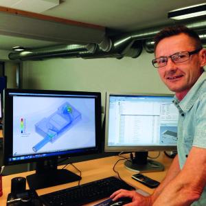 3D simulering i Genvex laboratoriet - Torben Thomsen