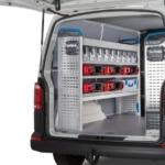 Nye opbevaringsmuligheder øger overblikket i varebilen