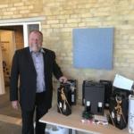 Ventilationsbranchen sagde farvel til Christen Galsgaard