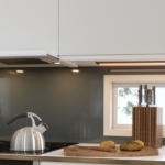 Ny udtræksemhætte med LED-belysning