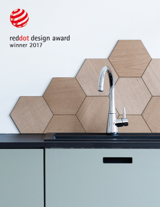 Den nye armaturserie Bell fra Damixa har allerede vundet sin første designpris - en Red Dot 2017 for bedste produktdesign 2017.