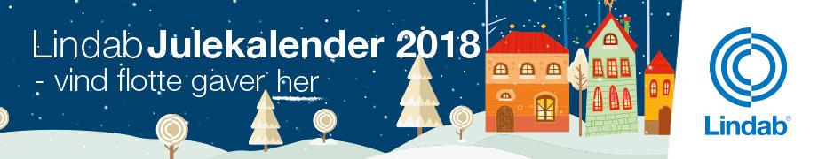 Vind flotte gaver i Lindabs online julekalender