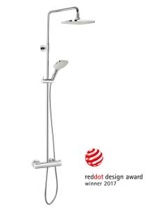 Damixas nyeste brusesystem Pine udmærker sig ved sit firkantede design med rundede hjørner - og nu med en eftertragtet design-award!