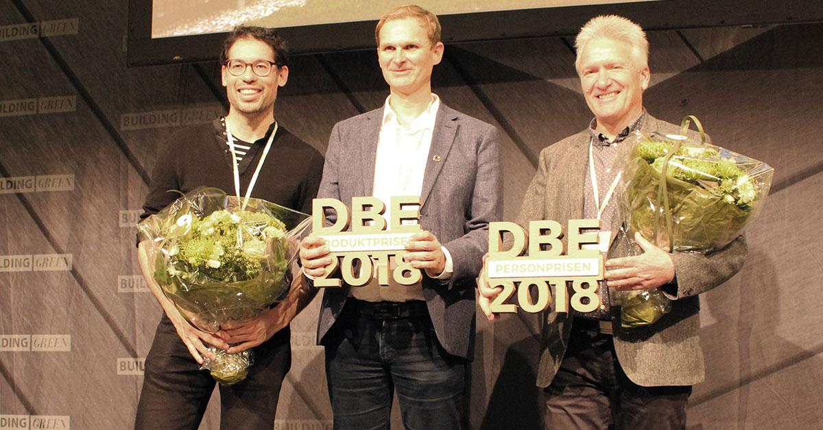 Hvem skal vinde Det Bæredygtige Element 2019, der uddeles på Building Green?