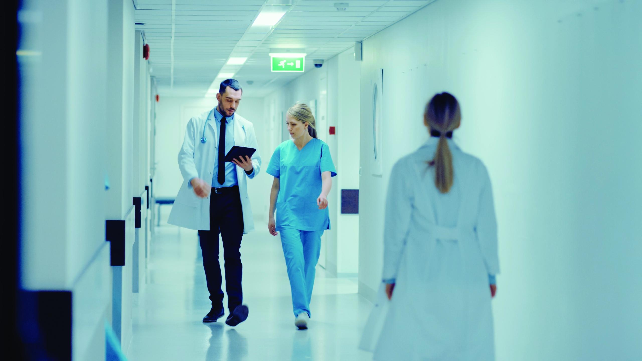 Blog om elforsyning på hospitaler