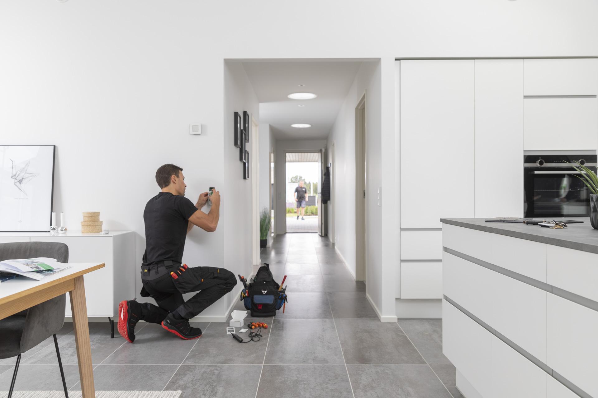 Installation af smart home system
