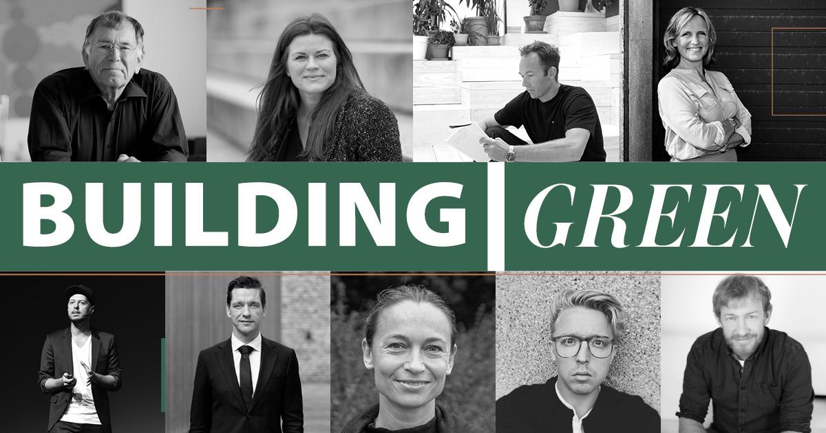 Frontløbere inden for bæredygtighed taler på Building Green