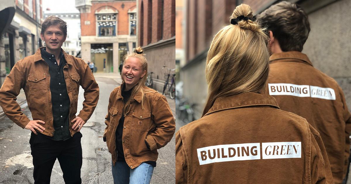 Tilmeld dig Building Green i den her uge og vind en Carhartt jakke