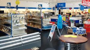Lindab-butikken i Viby kan fejre rund fødselsdag den 13. maj.
