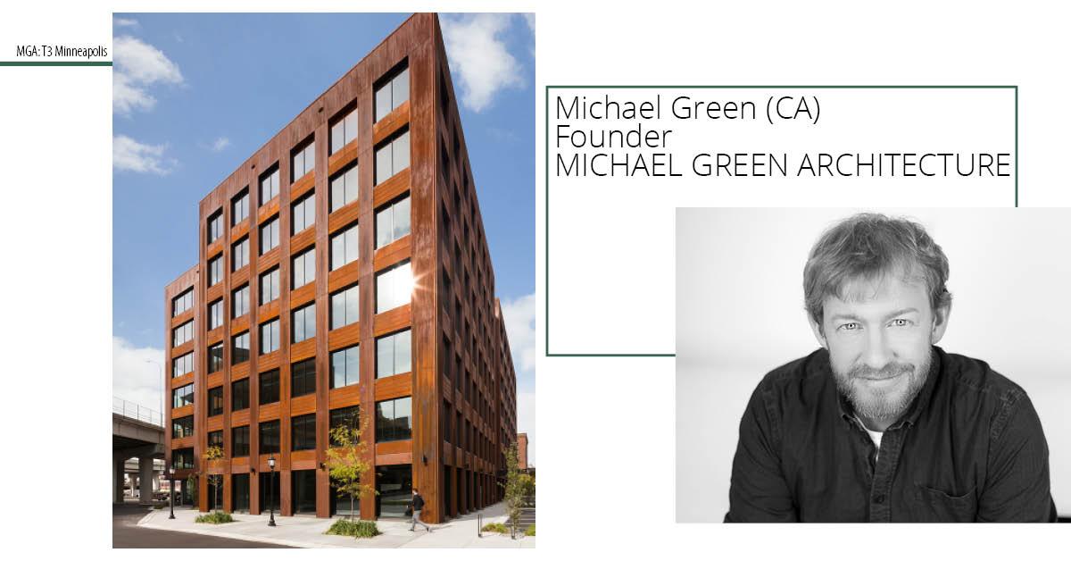Den verdenskendte træpioner Michael Green taler på Building Green