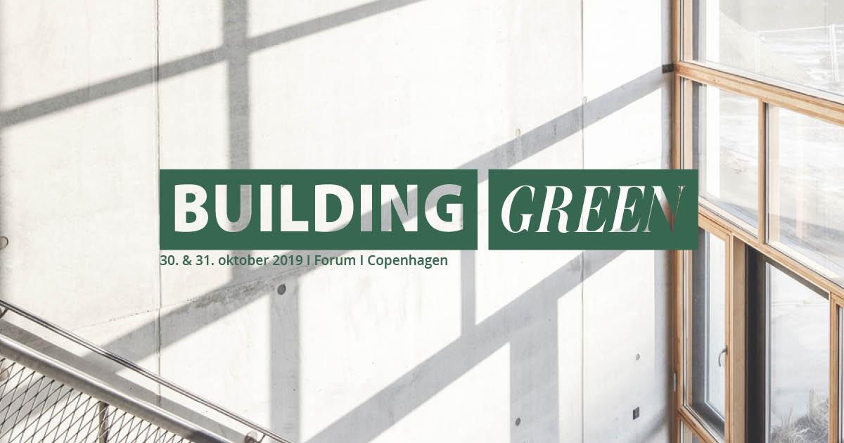 Building Green sætter fokus på træbyggeri