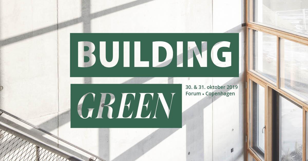 Building Green, bæredygtigt byggeri og fællesskab.