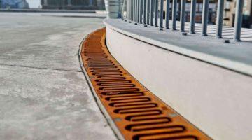 2,4 km linjedræn sikrer tørre fødder i Royal Arena