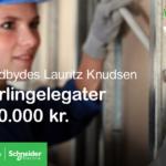 Lauritz Knudsen Lærlingelegatpå 20.000 kr.