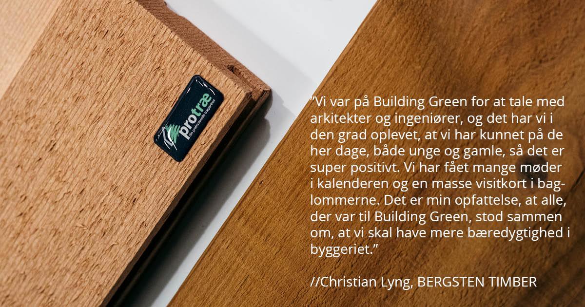 Udstil dine bæredygtige løsninger til byggeriet til Building Green Aarhus