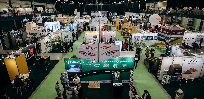 Udstil dine bæredygtige produkter til Building Green den 30. og 31. oktober i Forum, København.