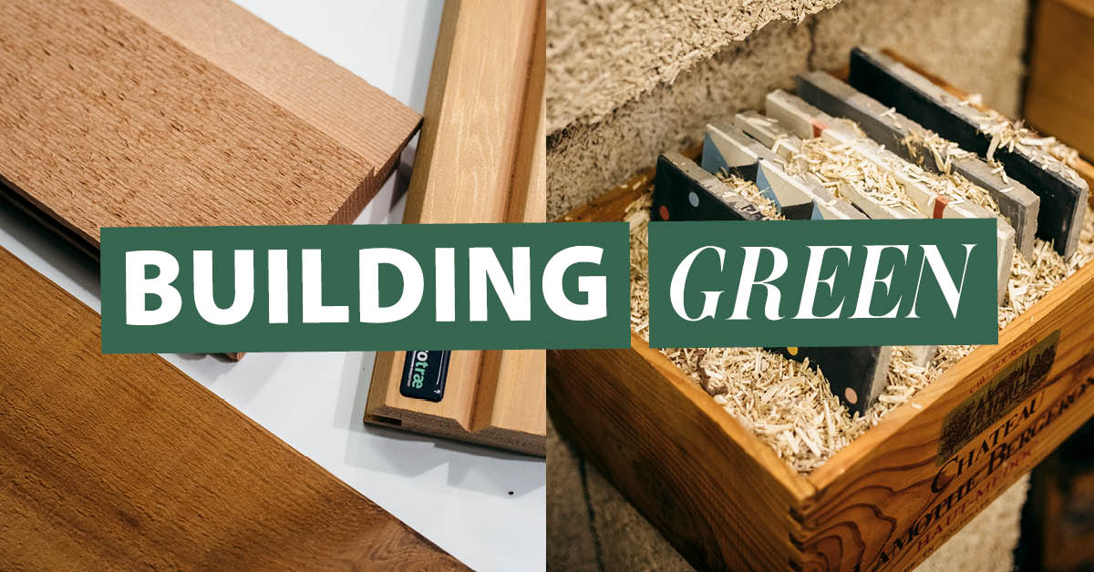 Udstil dine bæredygtige produkter til Building Green.