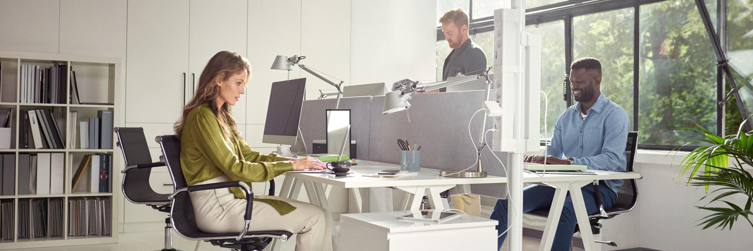 Modulære enheder til det moderne kontor