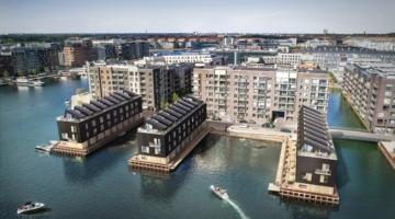 Nye byhuse i luksusklassen – direkte til vandet i København