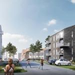 Ny bydel med et bæredygtigt tvist skyder op i Helsinge