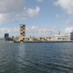 Højt trætårn på vej til Aarhus